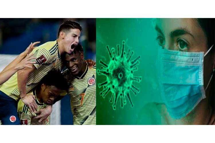 Alarma en Selección Colombia por jugador uruguayo que dio positivo covid y jugó en Barranquilla
