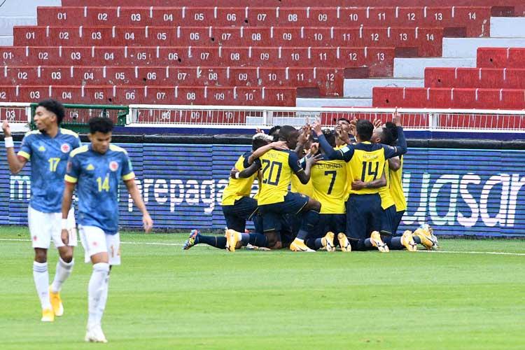 Desastre en Quito, Colombia perdió por goleada ante Ecuador