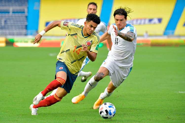 Humillante derrota de Colombia ante Uruguay