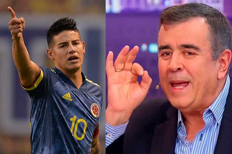 James denunciará por difamación sobre peleas en Selección. Javier Hernández asegura tener pruebas