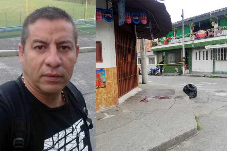 Asesinaron Diego Hernán Tebaida