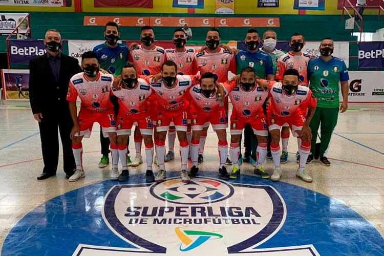Caciques Quindío clasificó semifinal Superliga Microfútbol